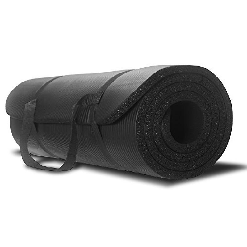 Yoga Mat - Best Premium Thick Exercise Mat - Great for Ae...