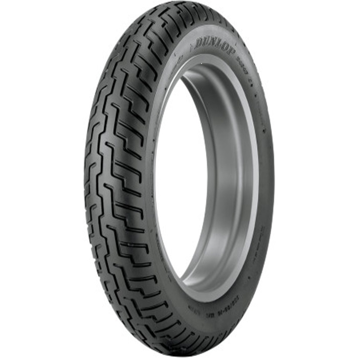 Dunlop D404 Metric Cruiser Tubeless Bias Front Tire 80/90-21