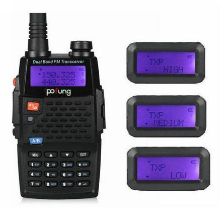 POFUNG BAOFENG F9 + TP 136-174 / 400-520MHZ 1/4 / 8W RADIO PORTÁTIL DE DOS VÍAS FM WALKIE TALKIE