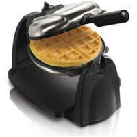 Hamilton Beach Flip Belgian Waffle Maker with Removable Grids | Model# 26030