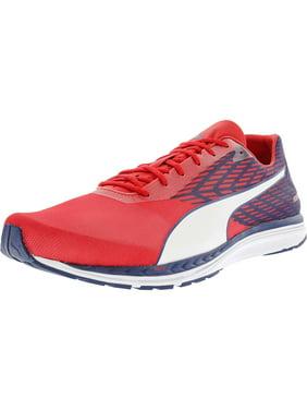 5c352636733e01 Product Image Puma Men s Speed 100 R Ignite Toreador   Blue Depths White  Ankle-High Running Shoe