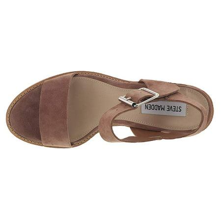 bd3b24e3932 Steve Madden Women's Castro Heeled Sandal