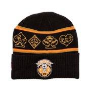 Mishka Mens The Death Dealer Beanie Hat, black, One Size