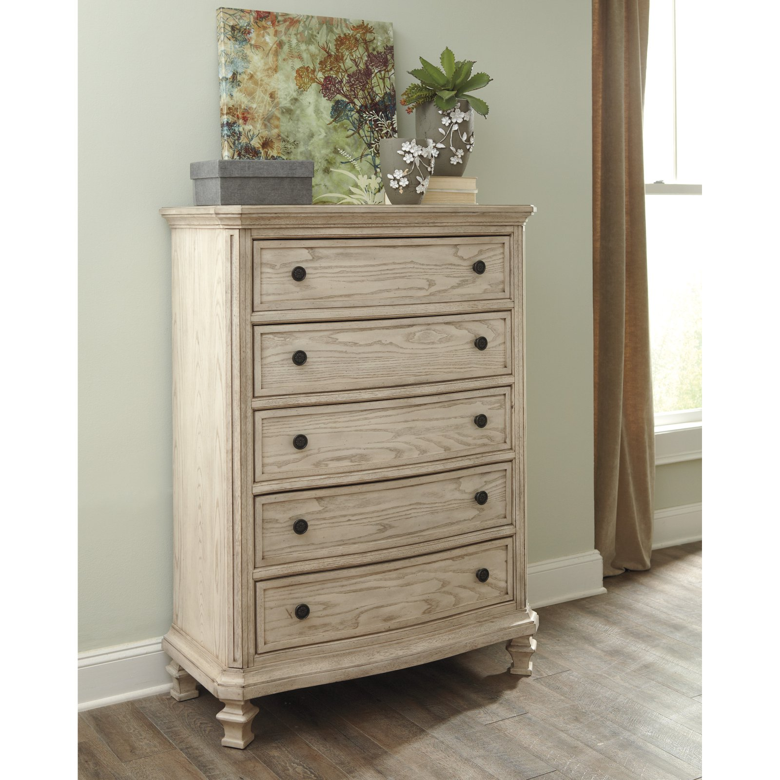 Signature Design by Ashley Demarlos 5 Drawer Chest