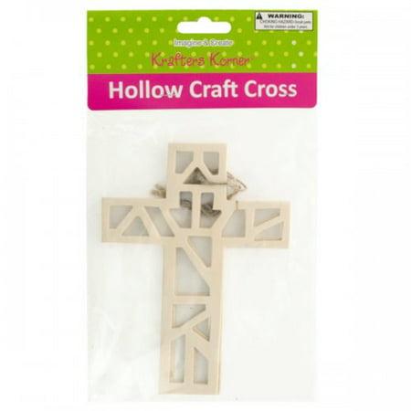 Hollow Wooden Craft Crosses (Wooden Cross Crafts)