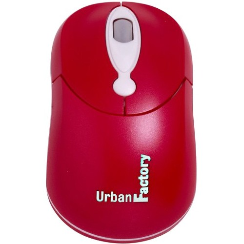 Urban Factory CM10UF Crazy Mouse Red Optical Accs Usb Wired Mouse 800dpi