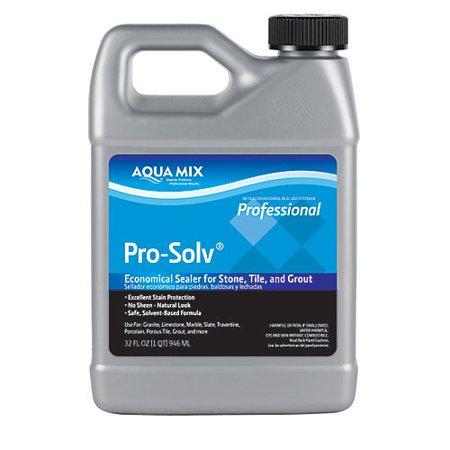 Aqua Mix Pro-Solv Economical Sealer for Stone, Tile, And Grout Quart 32