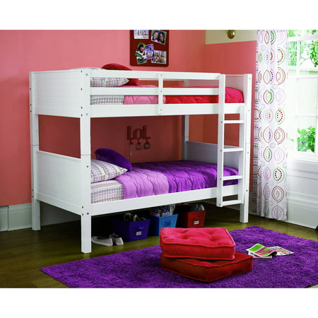 your zone zzz place to be twin over twin bunk bed, Multiple Finishes