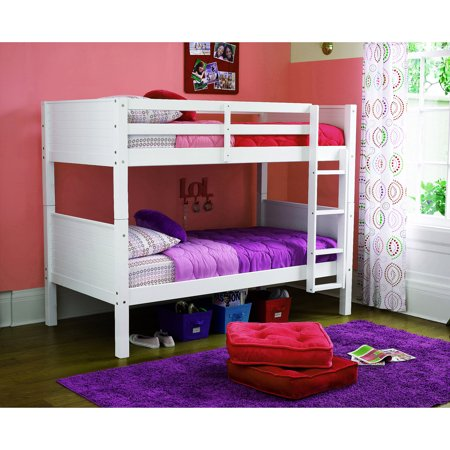 dorel home your zone zzz place to be twin over twin bunk bed multiple
