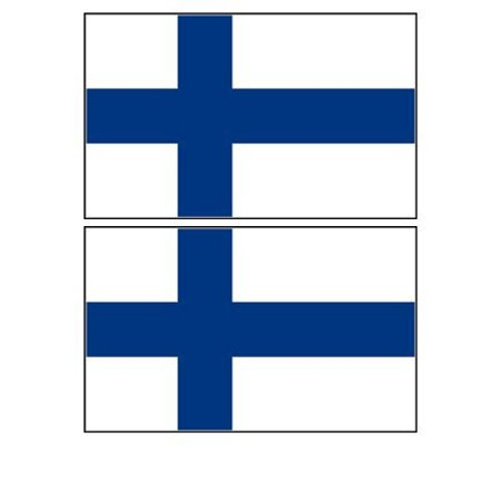 Finland Ribbons - 2 Finland Finnish Flag Magnets Refrigerator Locker Toolbox Appliances, Nylon Rectangle United Premium 2x3ft Chick Vehicles Design States inches National Ribbon.., By Gary Overton