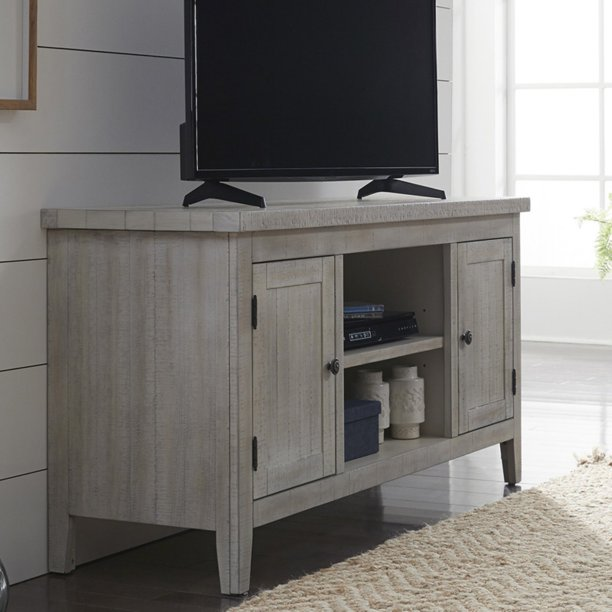 Liberty Furniture Industries Boho Loft Tv Stand White Walmart Com Walmart Com