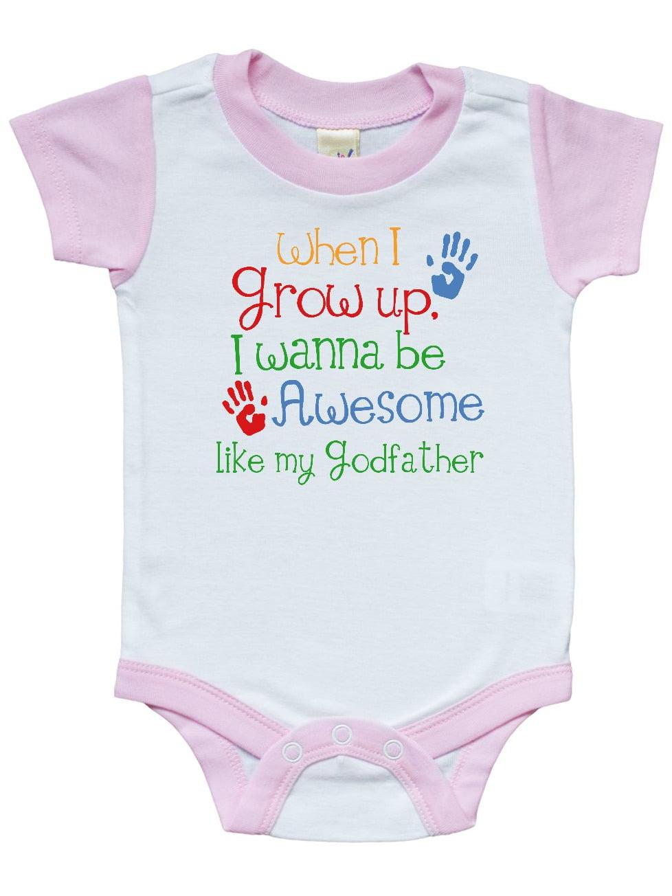 7586f659c Inktastic - Awesome Like My Godfather Infant Creeper - Walmart.com