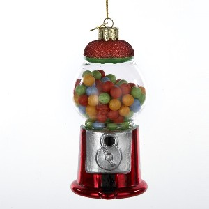 Noble Gems Glass Gumball Machine Ornament