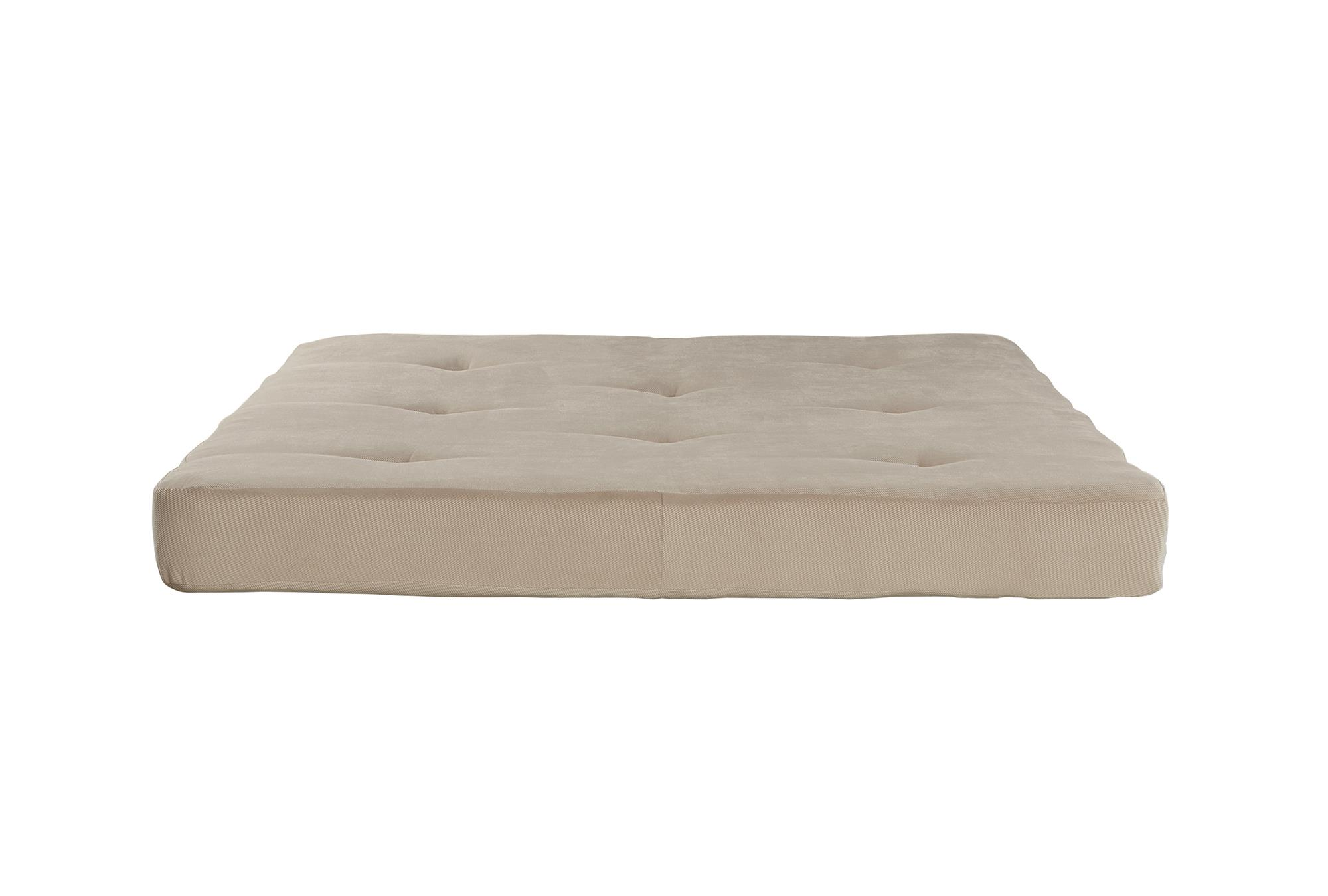 DHP Value 6 Inch Full Size Poly Filled Futon Mattress Fits Full-Size Futon Frame