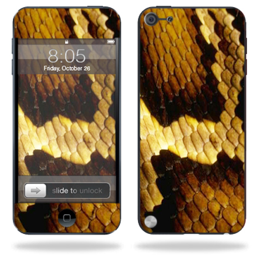 Mightyskins Protective Skin Decal Cover for Apple iPod Touch 5G (5th generation) MP3 Player wrap sticker skins Python
