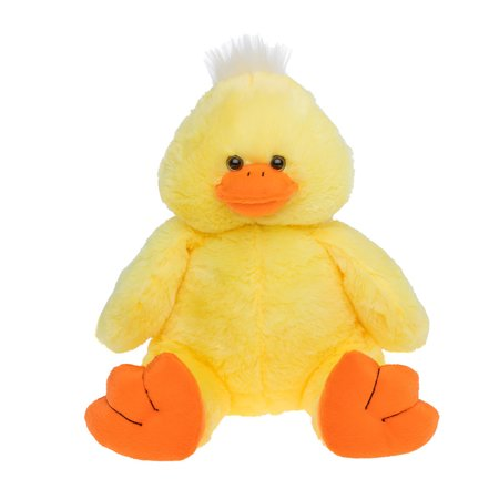 Cuddly Soft 16 inch Stuffed Yellow Plush Duck...We stuff 'em...you love 'em! Graduation Soft Bear