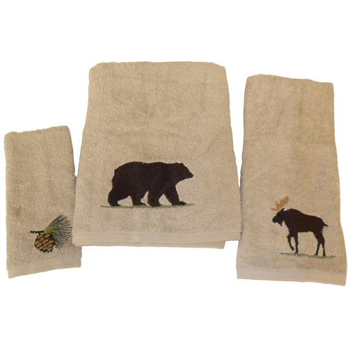 Mainstays Timber Ridge 3-Piece Towel Set