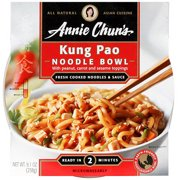 Annie Chun's Kung Pao Medium Noodle Bowl, 9.1 oz (Pack of 6)