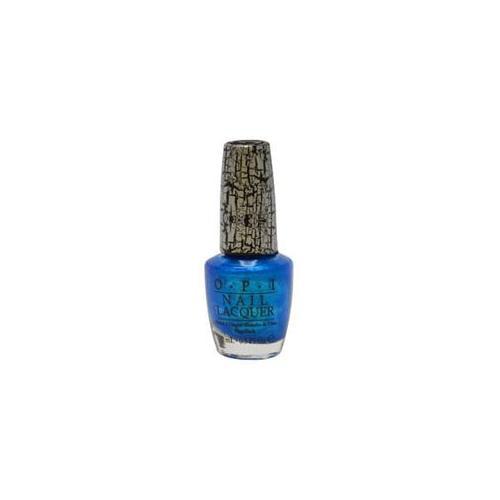OPI W-C-2558 Nail Lacquer No.  NL E64 Turquoise Shatter - 15 ml - Nail Polish