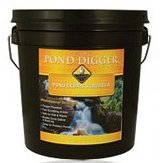 The pond digger rock waterfall scrubber 7lb for Koi pond return jets