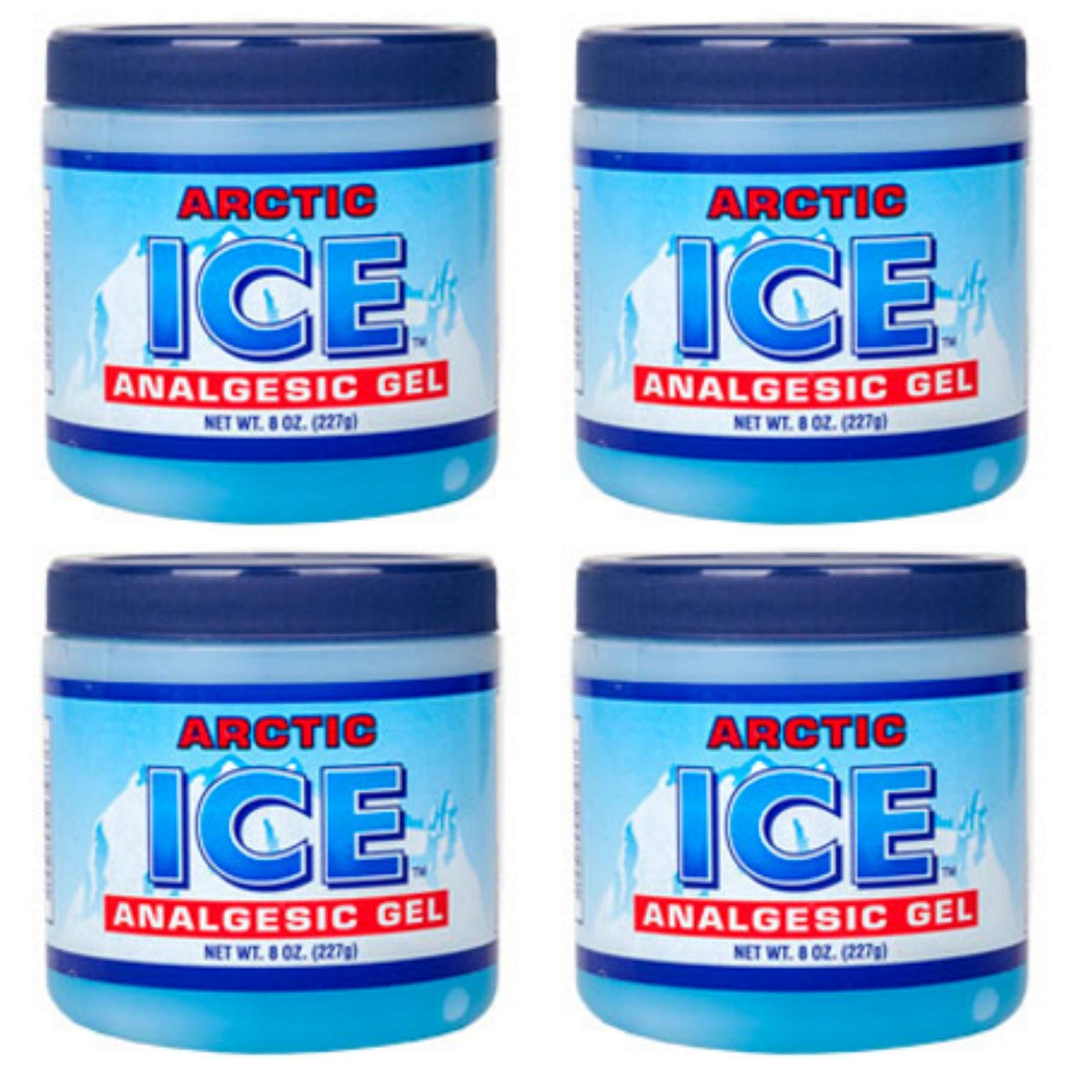 Ice Gel Pain Reliever - Smart Savers, Good for backaches, strains, sprains, arthritis, bruises, sports injuries By personal care