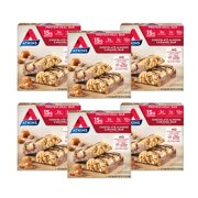 Atkins Protein-Rich Meal Bar, Chocolate Almond Caramel, Keto Friendly, 30 Count