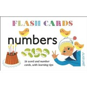 Numbers - Flash Cards : 56 Word and Number Cards, with Learning Tips