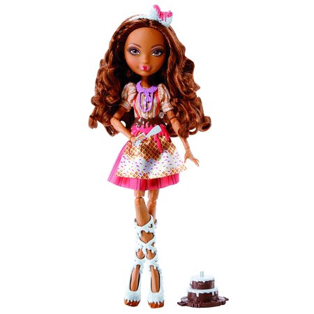Sugar Coated Cedar Wood Doll, When Madeline Hatter, Cedar Wood and Holly O'Hair decide to work with gourmet chef Ginger Breadhouse on a bake sale.., By Ever After High Ship from US (Madeline Hatter Story)