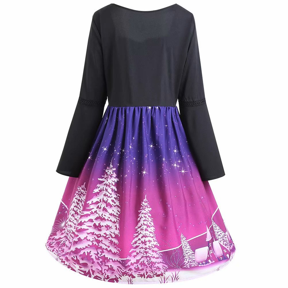e9074101f3 Noroomaknet - Noroomanknet Christmas Dresses for Juniors and Womens Plus  Size