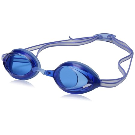 Jr. Vanquisher 2.0 Swim Goggles, Blue, One Size, Excellent competitive and training goggle that features soft silicone seals By