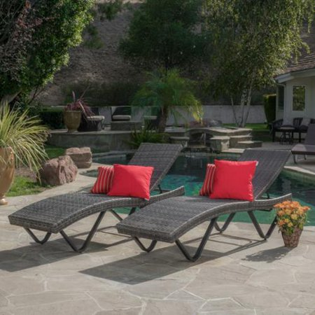 Christopher knight home san marco outdoor wicker chaise for Ashley san marco chaise