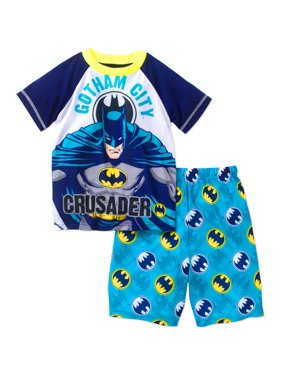 8733e0513e67 Product Image DC Comics Batman Boys Licensed 2 Piece Sleep Short Set