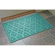 Bungalow Flooring Aqua Shield Ikat Doormat