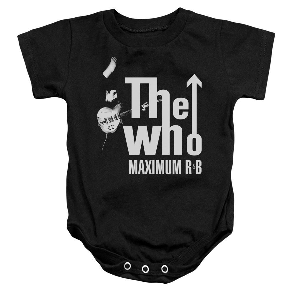 The Who Maximum R&B Unisex Baby Snapsuit