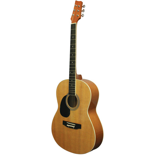 Kona K391L Left-Handed Parlor-Size Acoustic Guitar by Generic