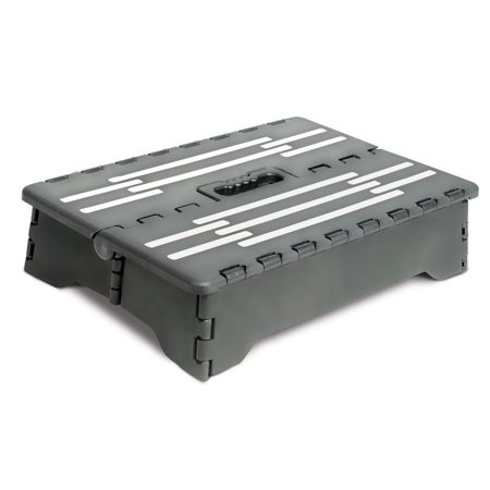 BodyHealt Portable Folding Riser Step Stool - (Portable Step Stool)