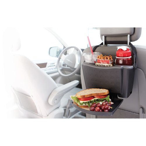 Rubbermaid Back Seat Food Tray Car Interior Organization Convenient Sturdy Large Tray With Cup Holders