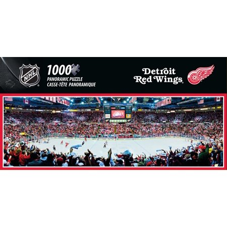 Masterpieces Nhl Panoramic Detroit Red Wings Puzzle  1000 Pieces