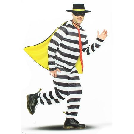 Black Halloween Burger Poop (Burger Thief Adult Costume)