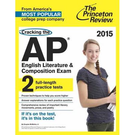 Cracking The Ap English Literature Composition Exam Walmart