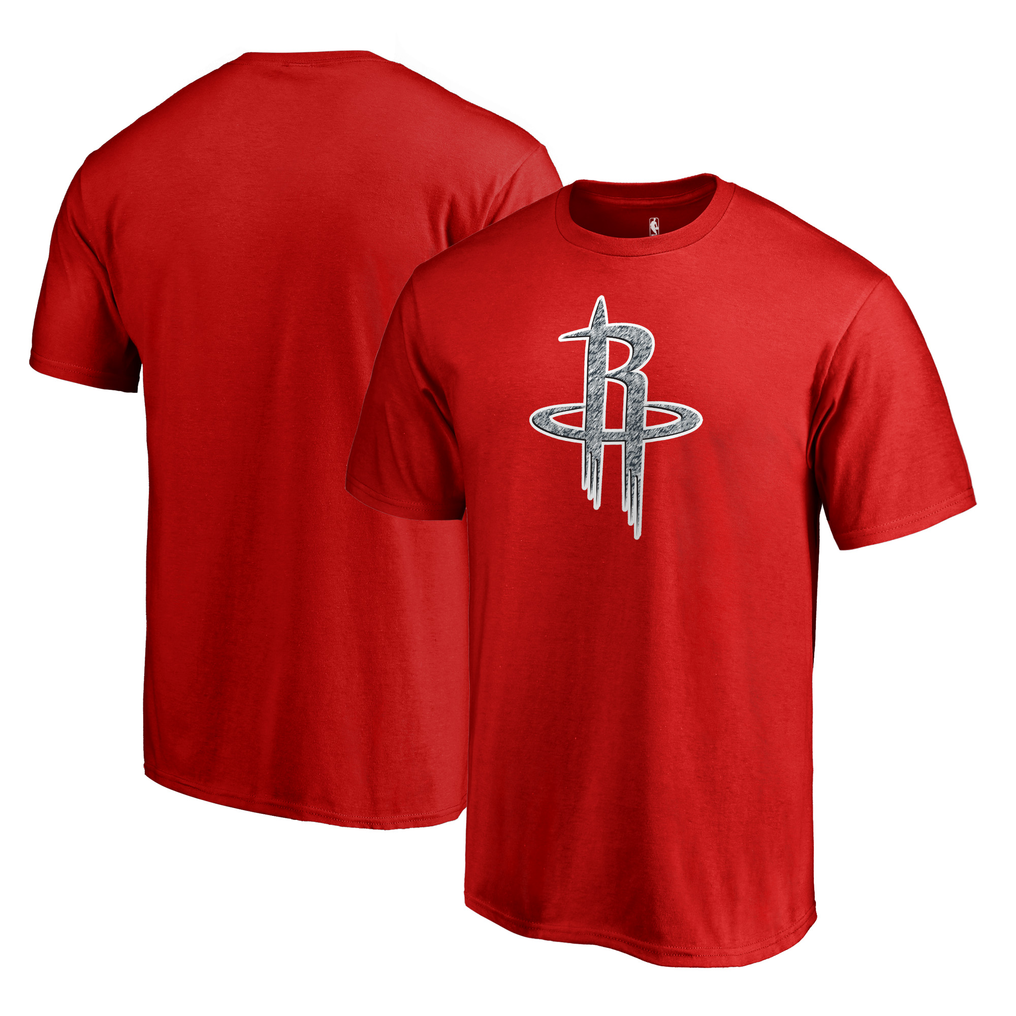 Houston Rockets Fanatics Branded Static Logo T-Shirt - Red
