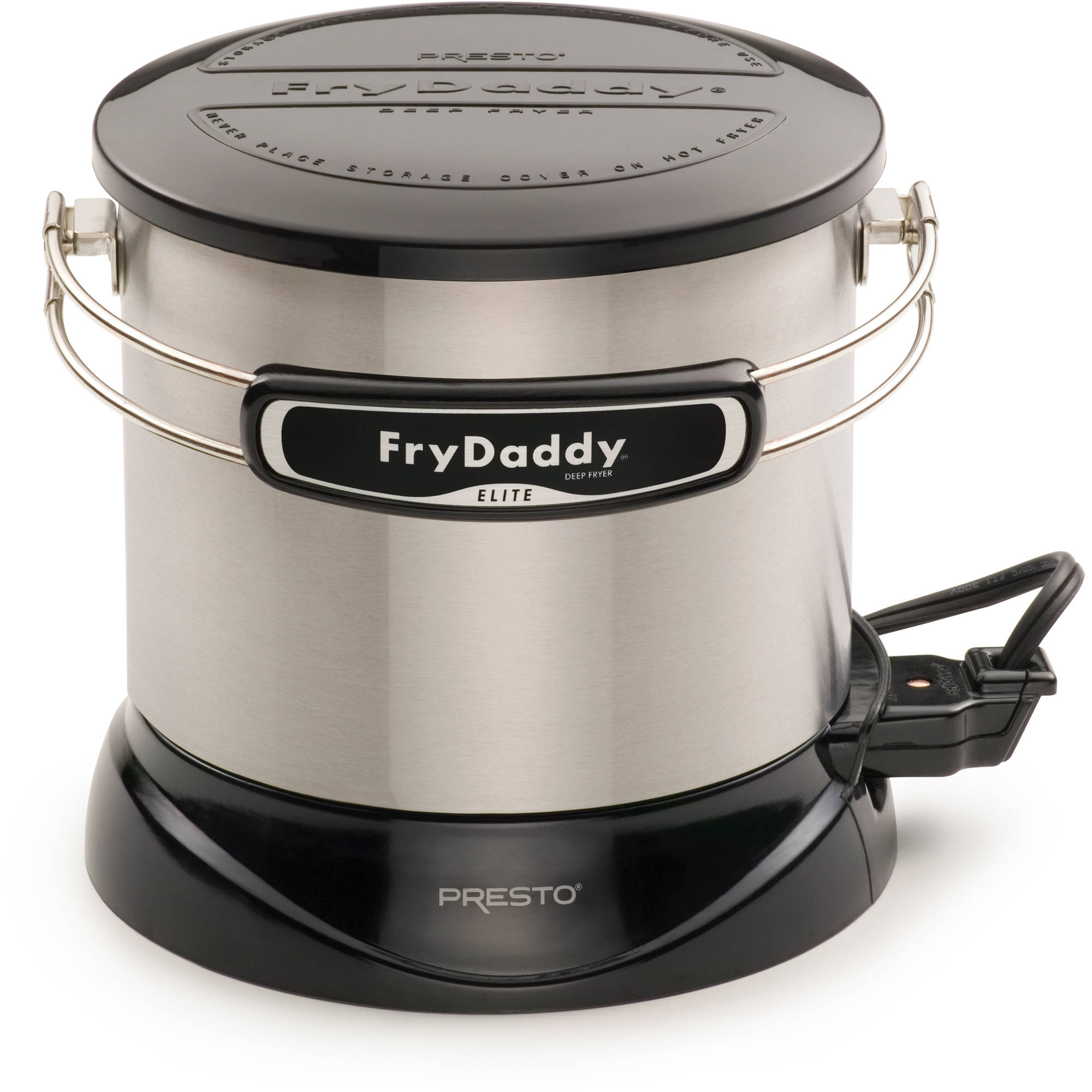 presto frydaddy elite 4-cup electric deep fryer - walmart