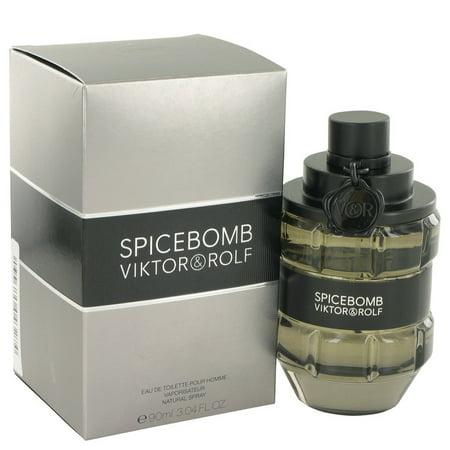 - Viktor & Rolf Spicebomb Eau De Toilette Spray for Men 3 oz