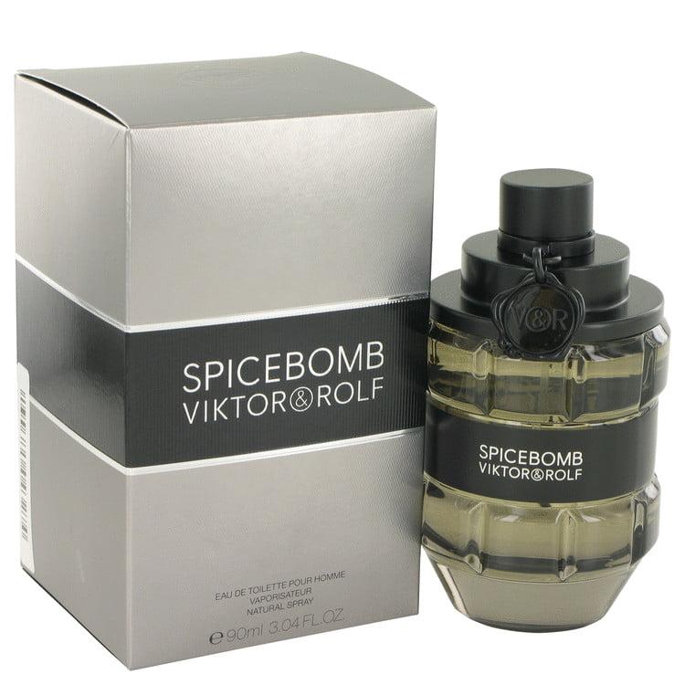 Viktor & Rolf Spicebomb Eau De Toilette Spray for Men 3 oz