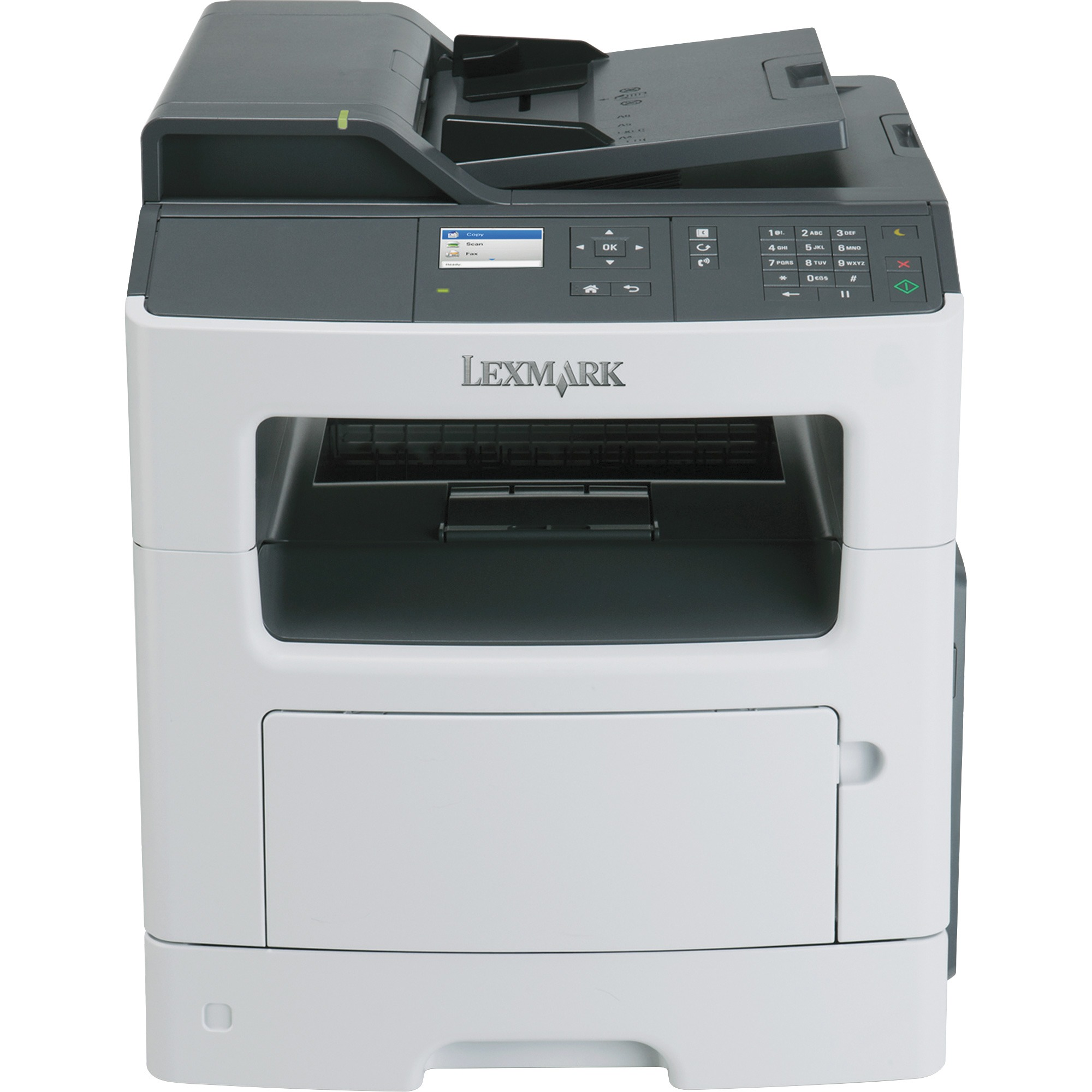 Lexmark MX317dn Laser Multifunction Printer - Monochrome - Plain Paper Print - Desktop