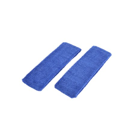 - Unique Bargains Bathing Face Washing Elastic Scarf Head Band Headband Royal Blue 2 Pcs