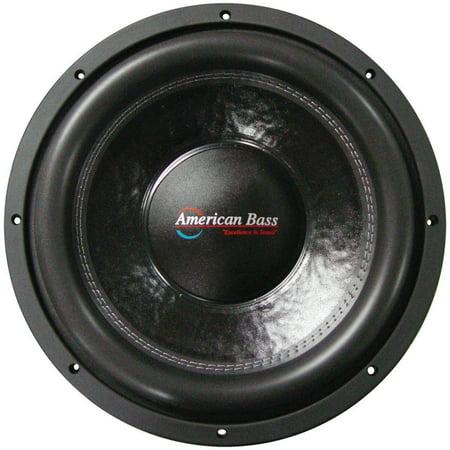 Coil Bass (American Bass XFL1522 15