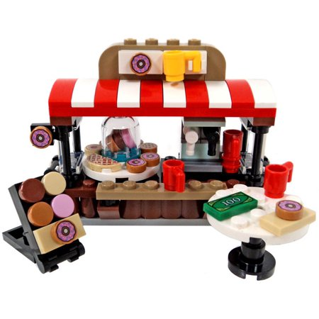 LEGO LEGO City Doughnut Stand with Sign and Table [No Packaging]