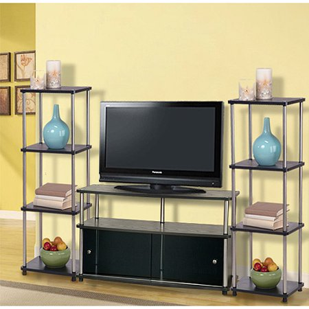 Design2Go Entertainment Center, for TVs up to 42;, Black