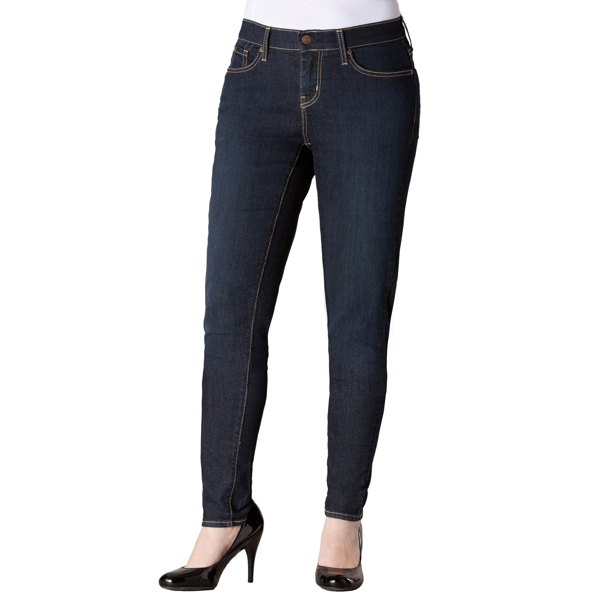 Signature by Levi Strauss & Co.™; Women's Curvy Skinny Jeans